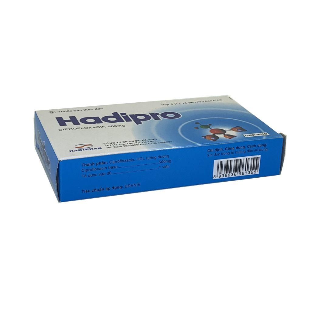 Thuốc Hadipro 500mg