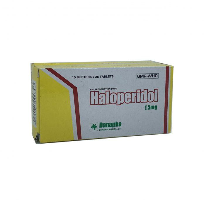 Thuốc Haloperidol 1,5 mg
