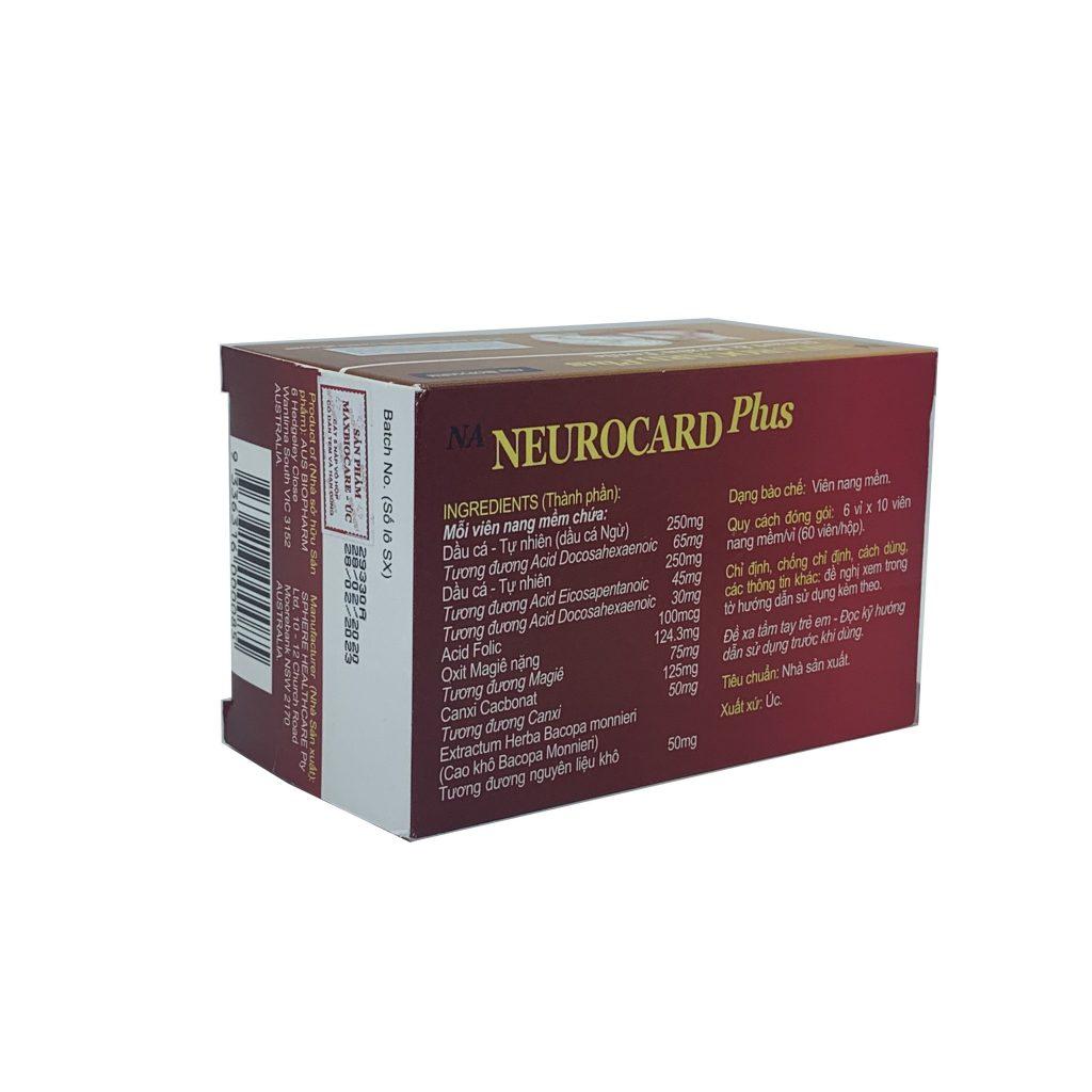 Thuốc NA Neurocard Plus