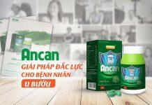 Ancan hỗ trợ điều trị hiệu quả cho bệnh nhân u bướu