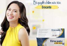Erocante là bí quyết giúp mái tóc luôn chắc khỏe, mềm mượt