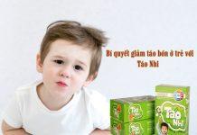 Táo Nhi hỗ trợ phòng ngừa táo bón cho trẻ dưới 6 tuổi