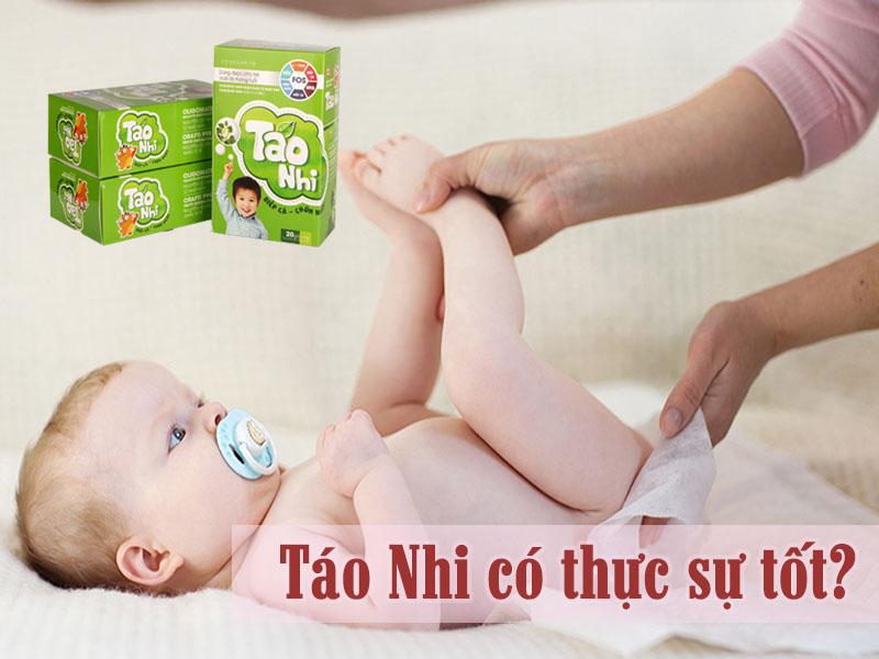Thực phẩm hỗ trợ giảm táo bón ở trẻ Táo Nhi